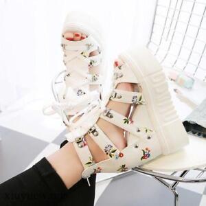 Women-Open-Toe-Lace-up-Hollow-Out-High-Wedge-Heel-Platform-Roman-Sandals-Shoes-8