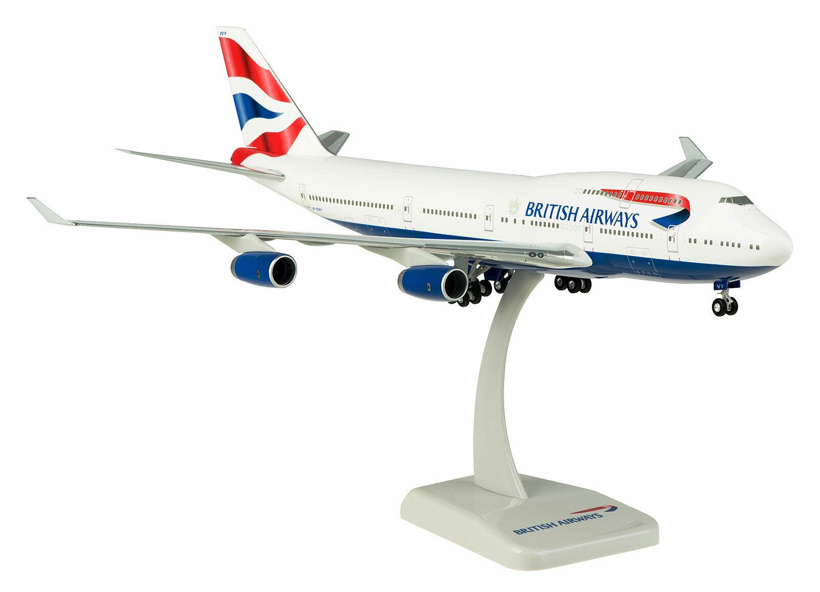 British Airways Boeing 747-400 1 200 LuPa Modell 10192 B747 NEU BA G-CIVY
