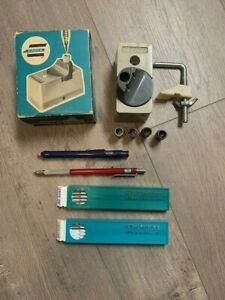 Eagle-17-Turquoise-Lead-Sharpener-and-Leads-amp-Faber-Castell-Pencil-amp-Eraser
