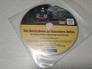 Die Reichsbahn zu Honeckers Zeiten. Die letzten Pacifics, Dresde, Bahn Extra DVD