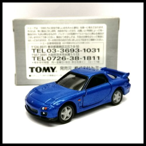 FD3S TOMICA LIMITED TL MAZDA RX-7 1//59 TOMY New Blue