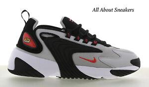 Nike-Zoom-2K-034-NERO-ROSSO-GRIGIO-034-Uomo-Scarpe-da-ginnastica-LIMITED-STOCK-Tutte-le-Taglie