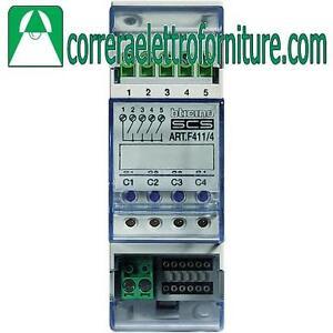 BTICINO-F411-4-Attuatore-a-4-rele-indipendenti-domotica-my-home