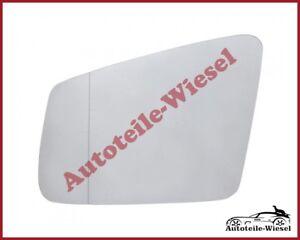 Außenspiegelglas Links Asph. Heizb. für Mercedes W212 C207 W204 C216