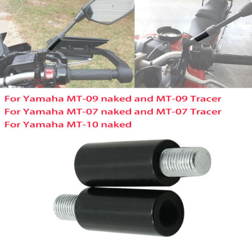 Rear View Mirrors Mirror Extender For Yamaha MT MT09 FJ09 MT07 Tracer MT10 USA