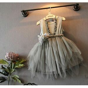 Girl-Princess-Flower-Dress-Kid-Baby-Party-Wedding-Pageant-Formal-Dresses-Clothes