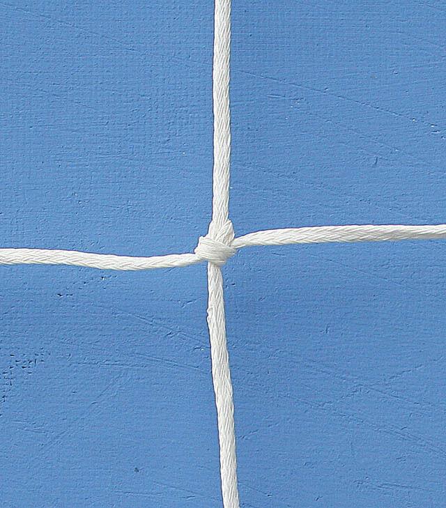 Coppia reti calcio ridotto mod. 166 - m 4x2 a maglia quadra