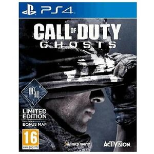 PLAYSTATION-4-Call-of-Duty-Ghosts-PS4-caduta-libera-ed-eccellente-1-Classe-Consegna