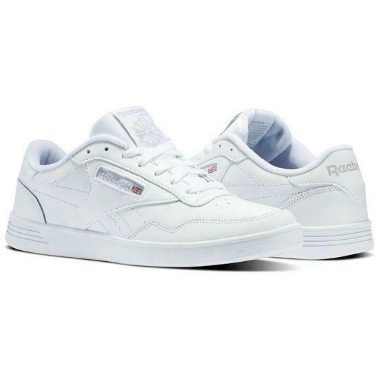 71595c2f8d1 Men Reebok Lifestyle Club MEMT V63340 White Steel 100 Original 10 for sale  online
