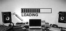 COMPUTER GAME WALL STICKER LOADING DECAL VINYL STICKER ART SEGA XBOX NINTENDO