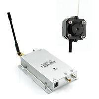 Mini Wireless Camera with Receiver Night Vision Hidden Spy Pinhole Micro Cam