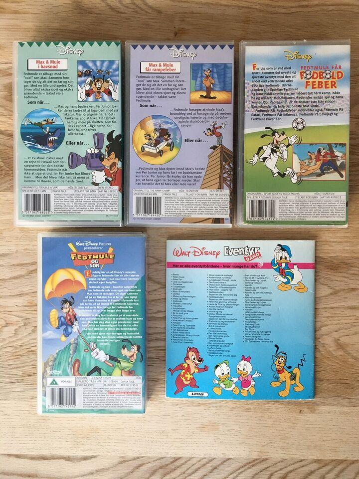 Børnefilm, Fedtmule og Søn Disney