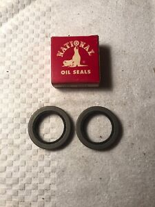 2-NOS-National-6973-Front-Wheel-Seals-56-57-58-59-60-61-62-63-64-Studebaker