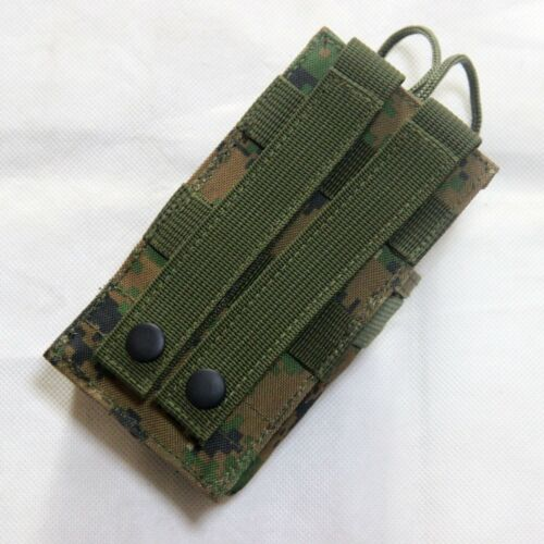 New Airsoft Molle Belt Tactical Short Radio Pouch Bag Black//OD//Marpat