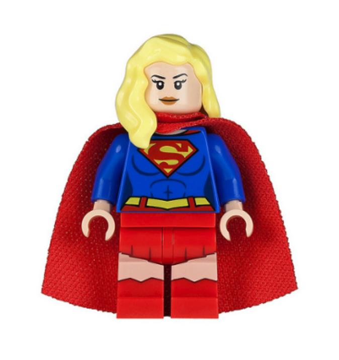 Lego Supergirl 76040 Super Heroes Justice League Minifigure
