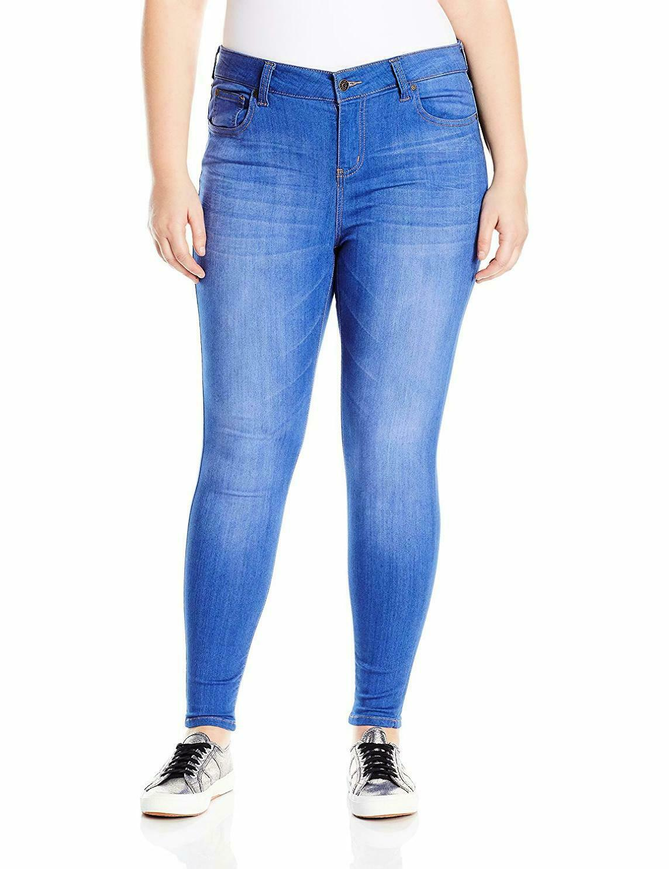 Celebrity rosado Jeans Wohombres Plus Plus Plus Talla infinito Stretch mediados de subida b15132