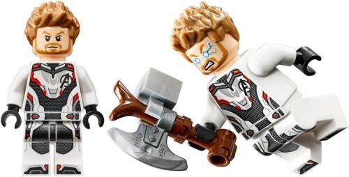 Lego THOR Minifig Figure Avengers Endgame 76126 Minifigure