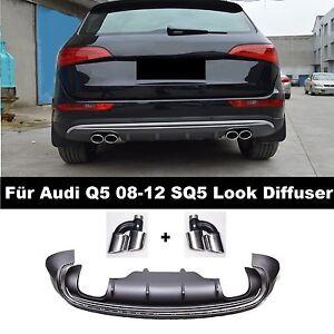 Diffuser-SQ5-Look-Stossstange-Fuer-Audi-Q5-8R-Grill-Waben-Facelift-08-12-33