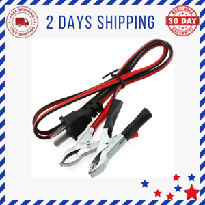 Generator Charging Cable Cord DC12V 2.3ft V-Type Charging Cable Wire
