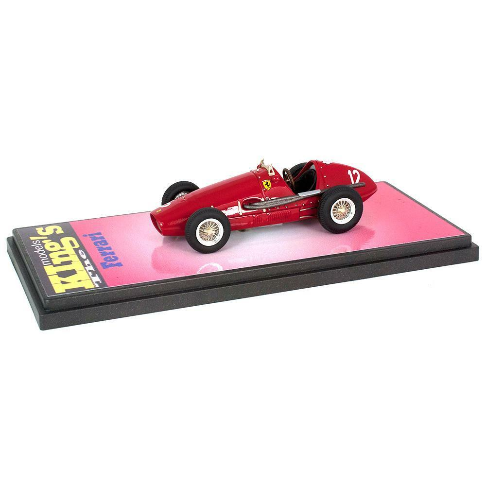 Kings Modelos 1 43 1953 Ferrari 500 F2 Modena GP Giuseppe Farina