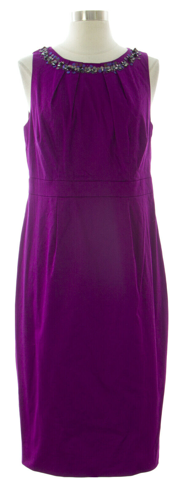 BODEN Woherren lila Knee Length Darcey Dress WH464 US Sz 8L  NWOT