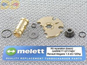 kit reparation turbo garrett nissan primera 1 9 dci 120ch 2000 04 melett gt1749v ebay. Black Bedroom Furniture Sets. Home Design Ideas