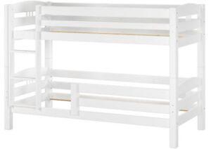 Kinderstockbett Letto a castello Legno bianco 90x200 letto a ...