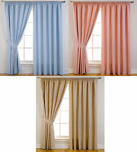 Dotty-Spot-Self-Lined-Blackout-Tape-Top-Curtains-Ideal-For-Childrens-Bedrooms