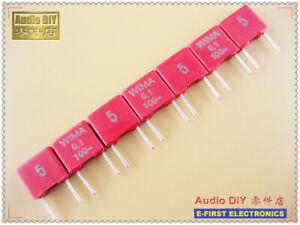 10-un-100-un-red-Wima-MKS2-0-1uF-100V-5-MKT-Pelicula-Series-Condensador-100nF-104