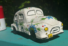 50s CUBA! vtg art pottery classic auto car figurine statue tropical island cuban
