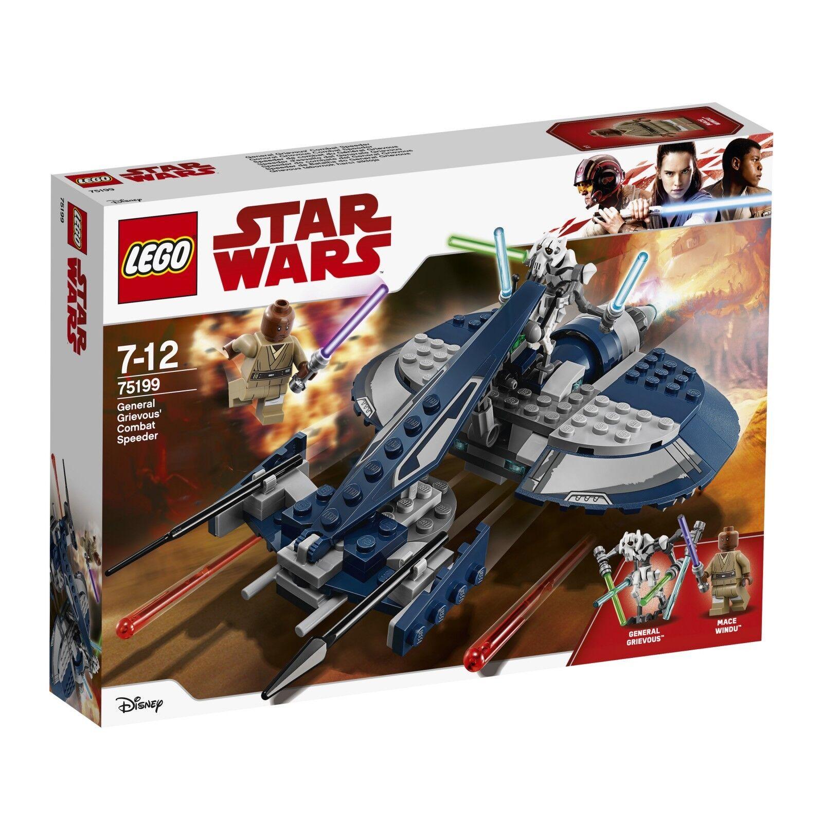 LEGO ® Star Wars ™ 75199 General Grievous Combat Speeder NUOVO OVP NEW MISB NRFB