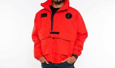 Nike MEN'S Sportswear AF1 Air Force 1 Jacket SIZE MEDIUM BRAND NEW HABANERO RED   eBay