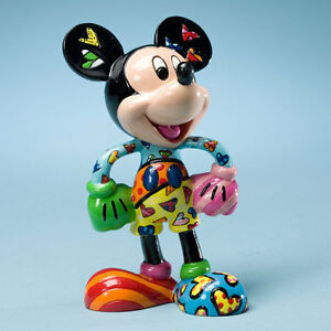MICKEY MOUSE MINI FIGURINE BY ROMERO BRITTO: SWEETHEART *NEW* GIFT ...