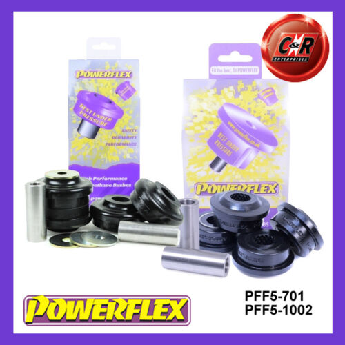 Powerflex Front Radius /& Control Arm Bushes PFF5-701//1002 BMW E60 M5 2003-2010