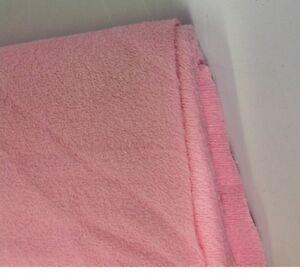 Algodon-Suave-Tejido-De-Toalla-Color-Rosa-Puro-Buena-Calidad