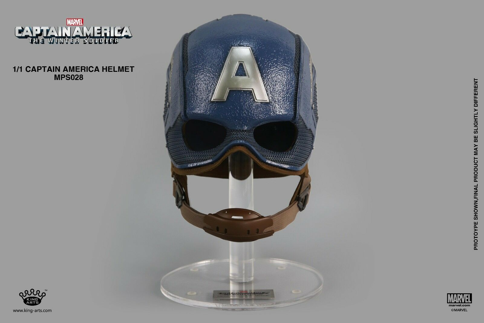 King Arts MPS028 1 1 Captain American Helmet Collection Toy