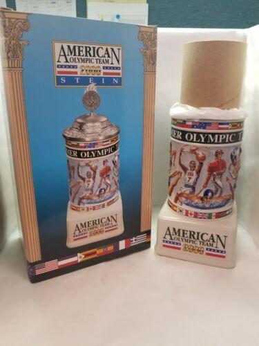 "Anheuser-Busch 2000 Lidded Ltd Stein /""AMERICAN OLYMPIC TEAM/"" CS460 #00233 Ed"