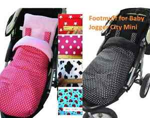 Footmuff Cocoons to fit BJ Baby Jogger City Mini