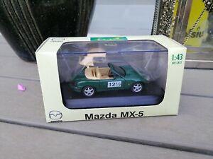 1-43-DIAPET-ZOOM-ZOOM-MAZDA-MX-5-DIECAST-IN-GREEN-IN-12-5-Years-DEALER-BOX-NEW