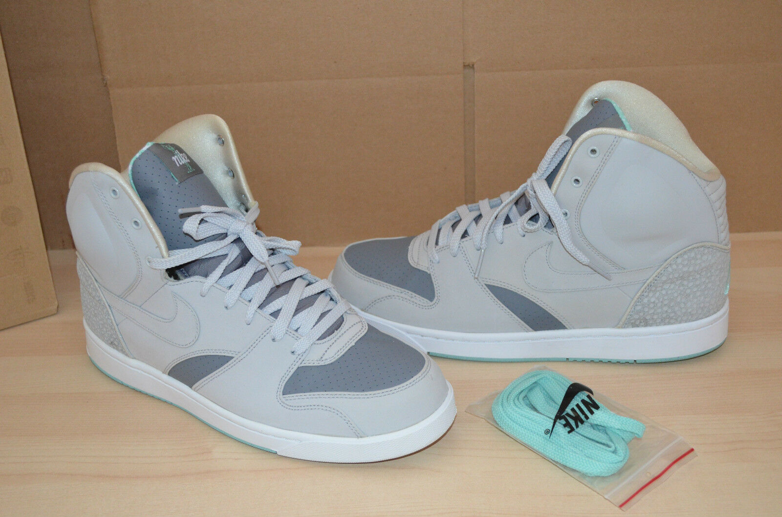 Nike RT1 High Mist Yeezy Natural Gray Green Mist High Mens Shoes Sneakers Size 10.5 d81fa8