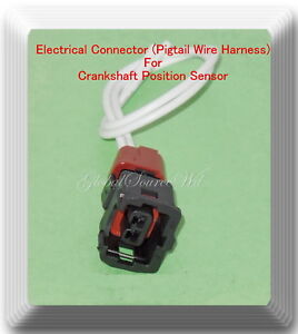 Details about Electrical Pigtail Wire Connector for Crankshaft Position  Sensor PC302 Fits: BMW