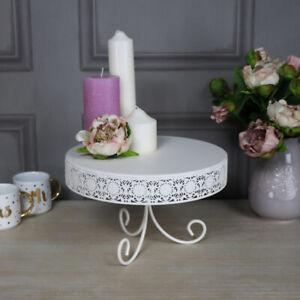 Dettagli su Metallo Crema Base Torta Accessori per la Cucina Cottura Al  Forno Stile Country