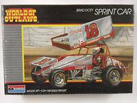 Factory Sealed Monogram Brad Doty Coors Light Sprint Car 1:24 Model Kit 2752