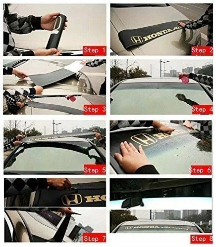 Car Front Windshield Banner Reflective Decal Sticker for Sport concept by MUGEN