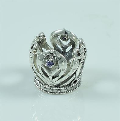Authentic Genuine Pandora Silver Disney Frozen Anna's Crown Charm 791589ACZ