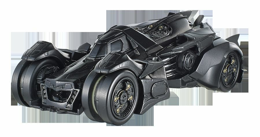 HOT WHEELS BATMAN ARKHAM KNIGHT BATMOBILE SCALE 1 43 DIECAST MODEL 12Cm NUOVO