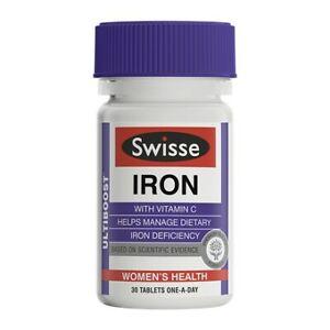 Swisse-Iron-30-tablets