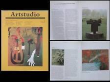 ARTSTUDIO - REVUE ART CONTEMPORAIN - N°14 1989 ESPAGNE BARCELO TAPIES CHILLIDA
