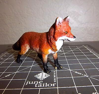 3 inches long cool collectible Safari Ltd Beautiful Red Fox Figurine #27370