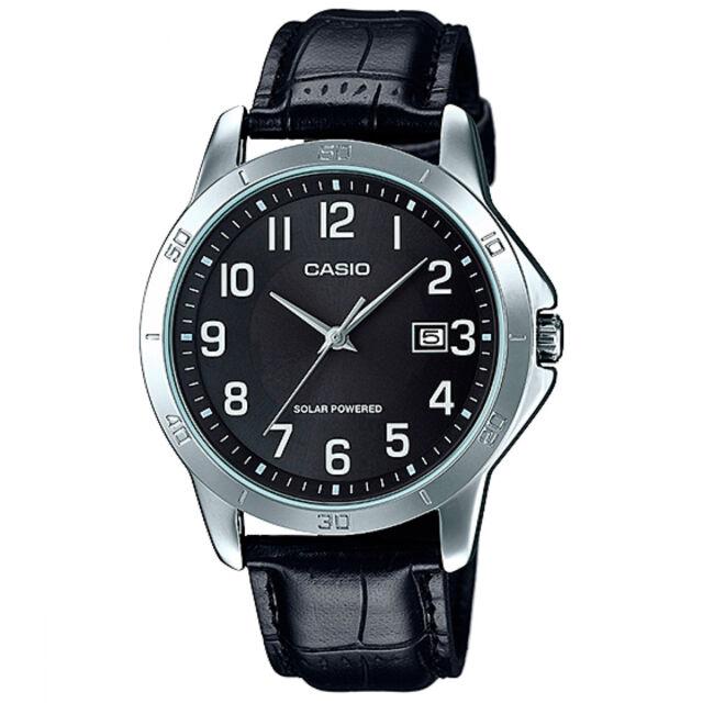 8b4c3f094448 Casio Mtp-vs01l-1b2 reloj caballero Analogico solar WR